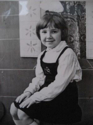 В детском саду я пыталась стать паинькой, не получалось ))