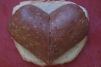 Сердечко из колбасы от любимого
