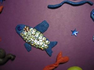 А вот и золотая рыбка, которая нашу мечту обязательно осуществит
