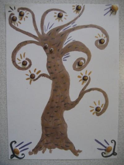 Рисунок волшебное дерево