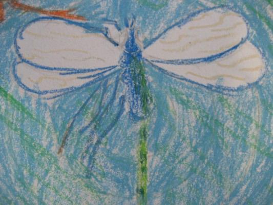 Рисунок стрекозы