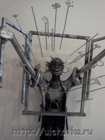 Выставка металлических скульптур Металлиссимус