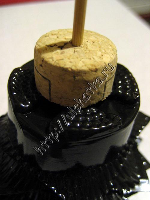 Новогодняя ёлочка из упаковки от конфет своими руками фото