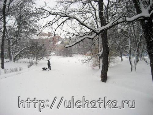 Снег детства