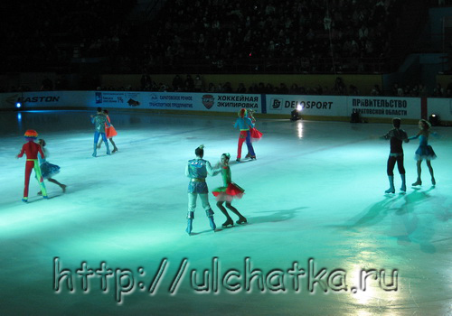 Ледовое шоу Морозко