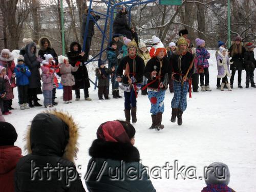 Масленица и проводы зимы в Саратове