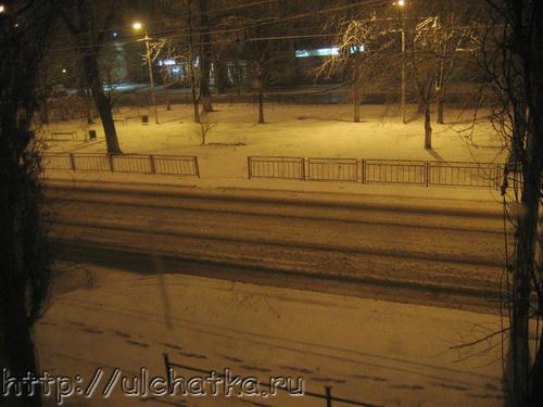 Опять зима в марте в Саратов пришла