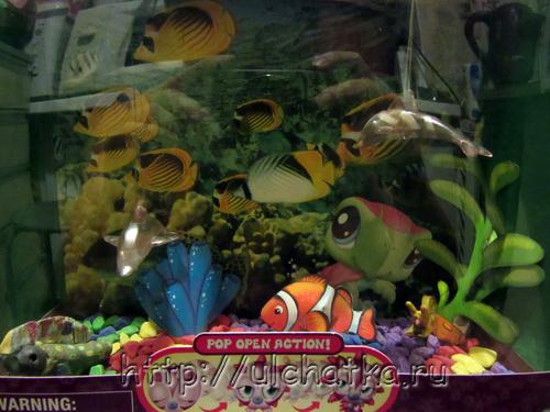Игрушка аквариум
