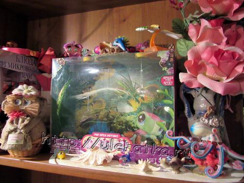 Как сделать аквариум из коробки