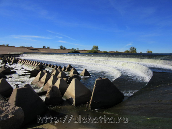Водопады в Саратовской области