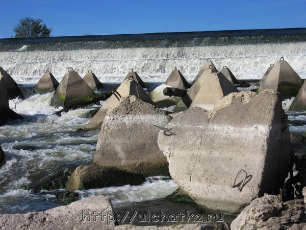 Большой Иргиз переливная плотина