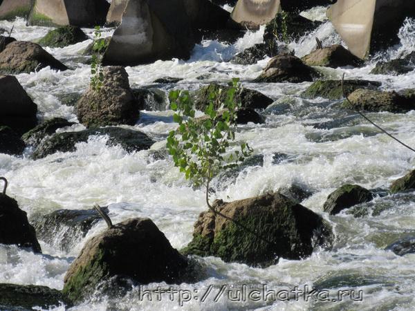 Сулакская переливная плотина
